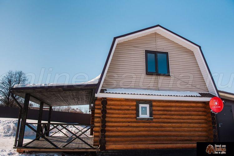 Berloga, баня на дровах